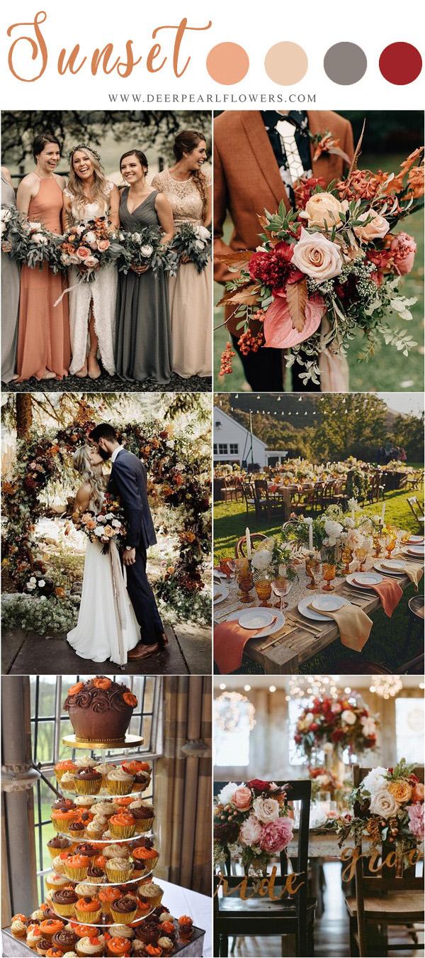 October Colors Wedding