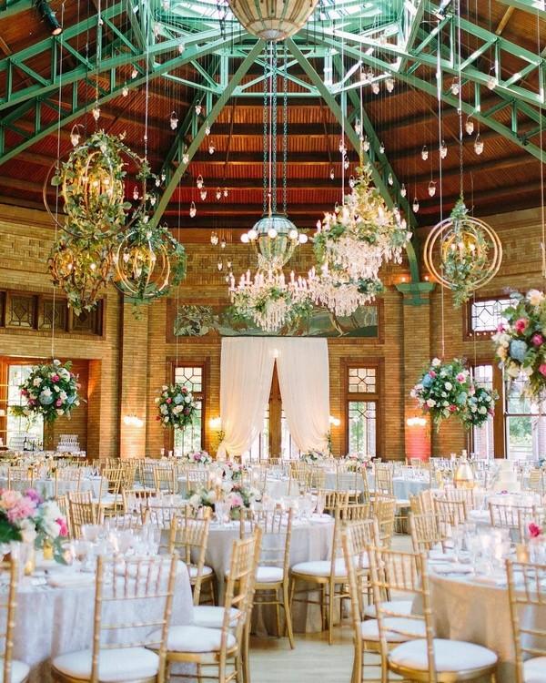 Wedding Trends Hanging Wedding Decor Ideas