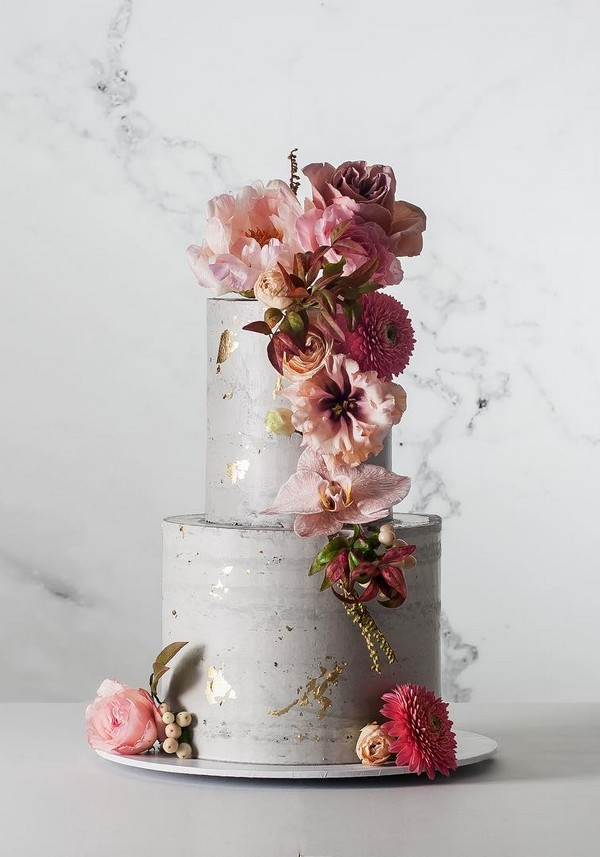 Elegant wedding cakes from cake_ink