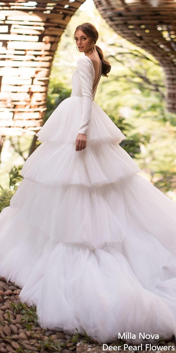 Milla Nova by Lorenzo Rossi Wedding Dresses 2020 Liora-1