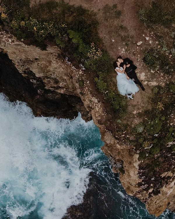 Aerial Drone Wedding Photography Ideas