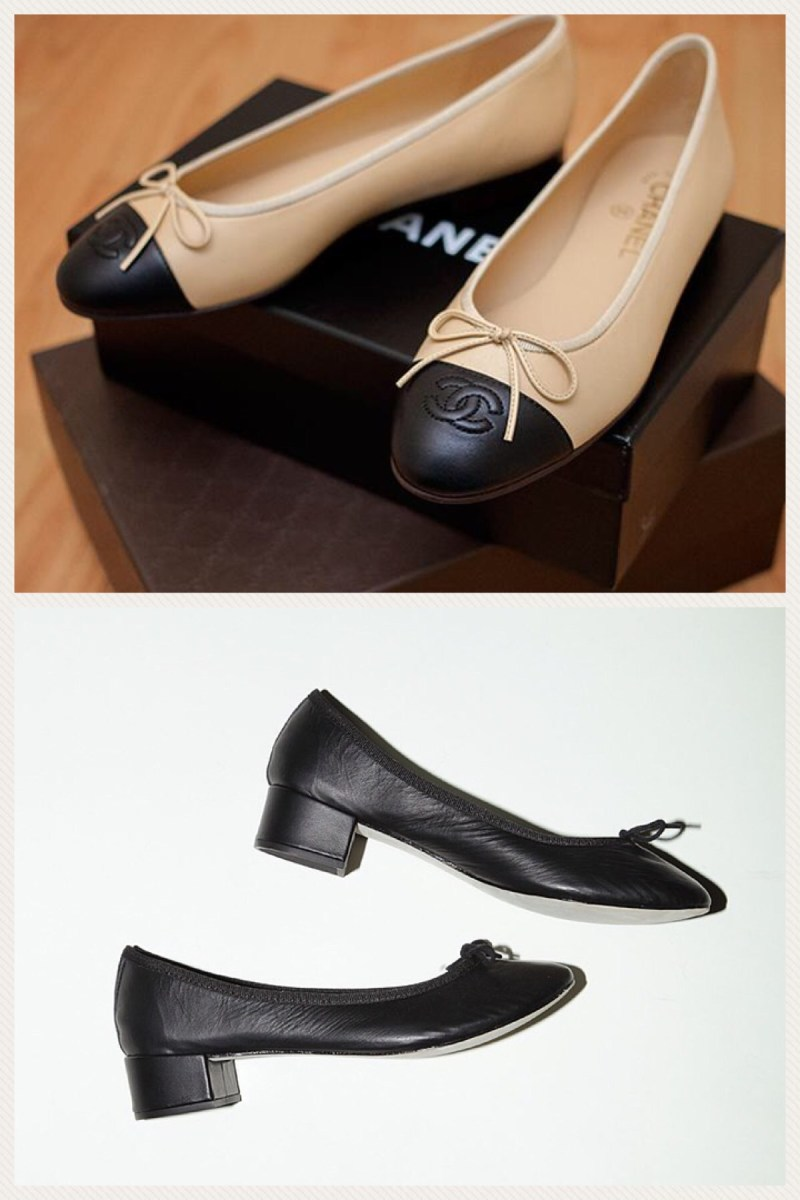 Notes on Repetto Vs. Chanel Ballerina