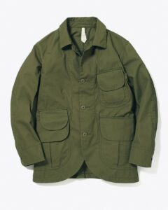 Ventile Cotton Jacket from http://www.snowpeak.com