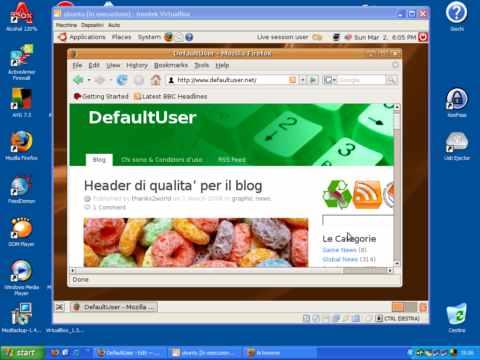 VirtualBox screenshot