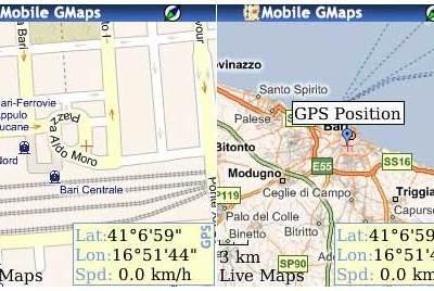 Mappe stradali e cartine offline con Mobile GMaps.