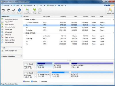 EaseUS Partition Master 9.2.1 Home Edition