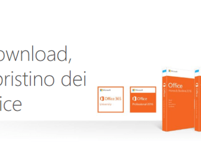 Scaricare e installare o reinstallare Office 2013 in un PC