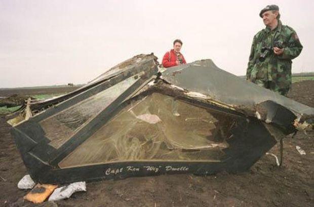 F-117-shot down