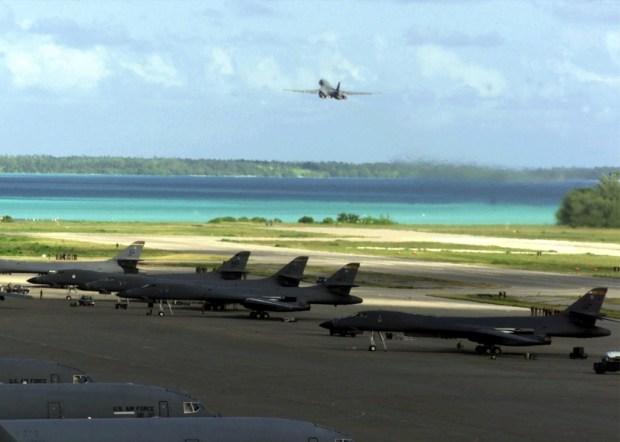 B-1_Bombers_on_Diego_Garcia