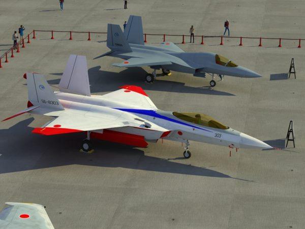 Mitsubishi ATD-X ShinShin a Japanese Stealth Fighter
