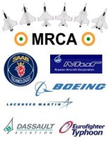 Top 6 aircraft in Indian Medium Multi-Role Combat Aircraft (MMRCA) Competition
