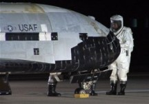 X-37B Orbital Test Vehicle lands at Vandenberg AFB