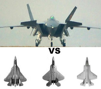 Comparing Chengdu J-20 with F-22, F-35 and Su-PAK FA or T ...