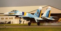 "Cold War Era Sukhoi Su-27 ""Flanker"" to Coup for Air Tattoo"