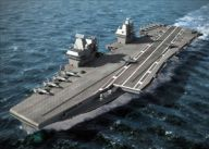Construction of HMS Prince of Wales, the second Queen Elizabeth Class aircraft carrier begins