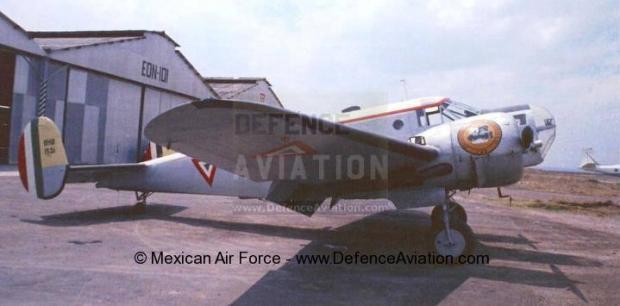 Beechcraft-AT-11-Kansan_Mexican_airforce