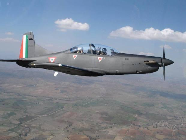 Pilatus PC-9M_Mexican_AirForce
