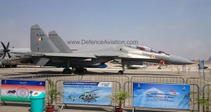 SU-30MKI with BrahMos handed over to Indian Air Force at Aero India 2015
