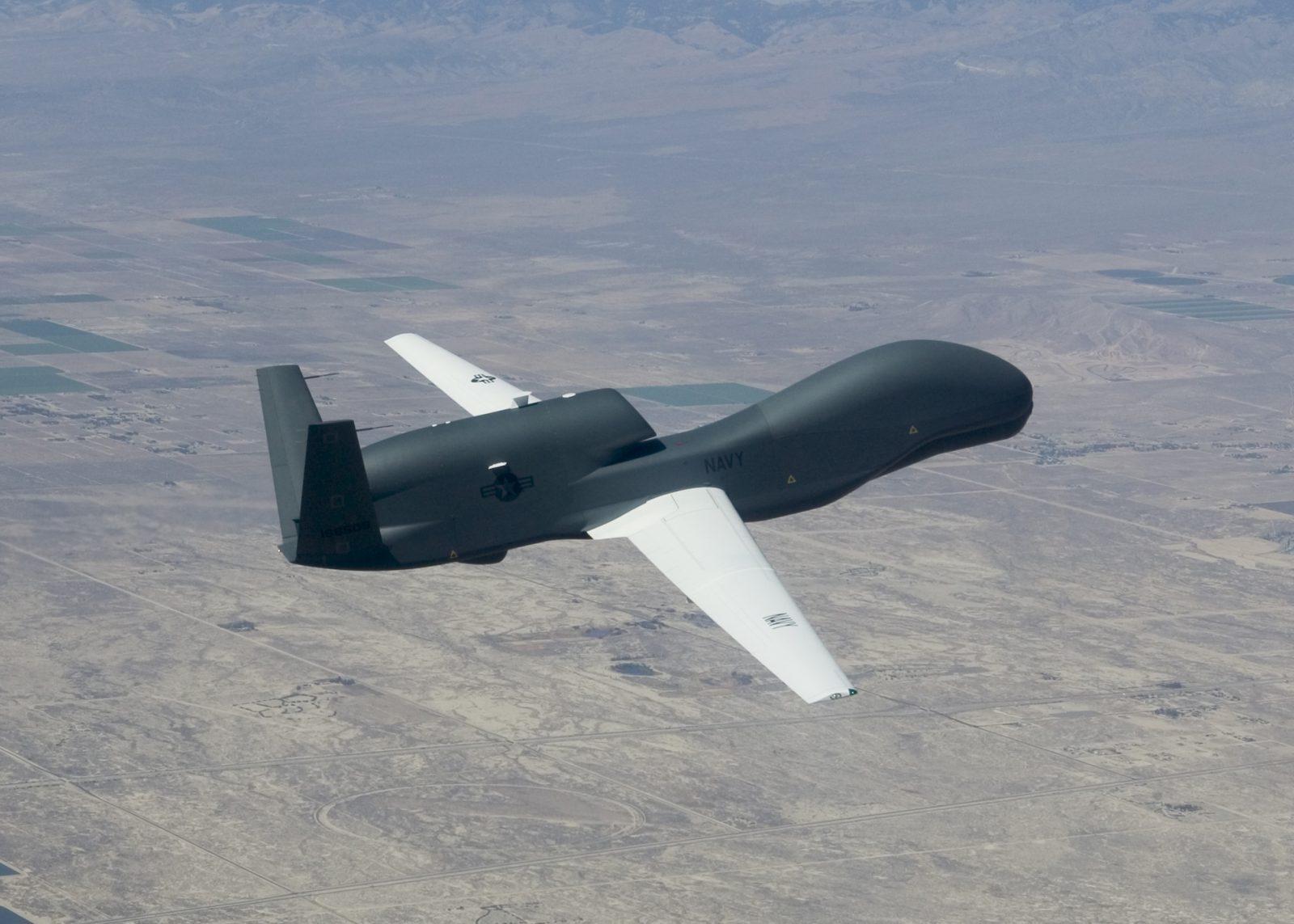 Decrease in cost per flight hour by Northrop Grumman RQ-4 Global Hawk