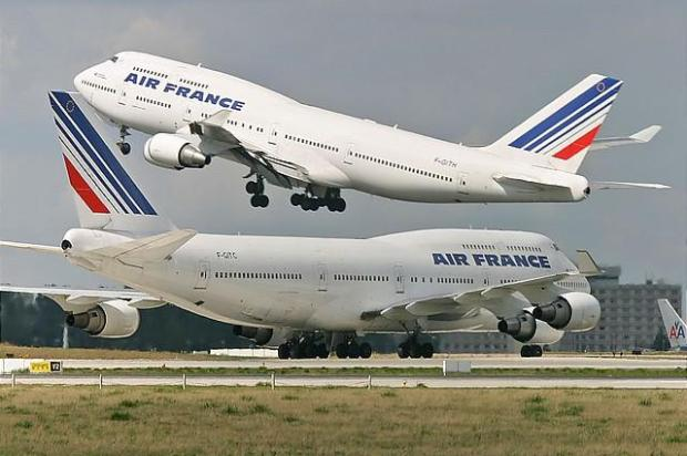 Boeing 747-400 Air France