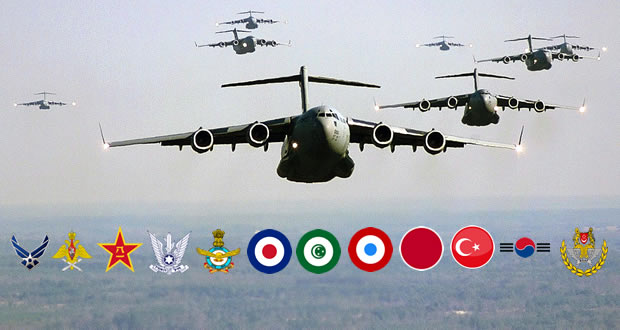 Top 12 most interesting Air Forces around the world