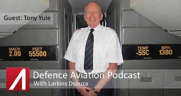 DA #7: Former Concorde Pilot Tony Yule talks on Supersonic Air Travel