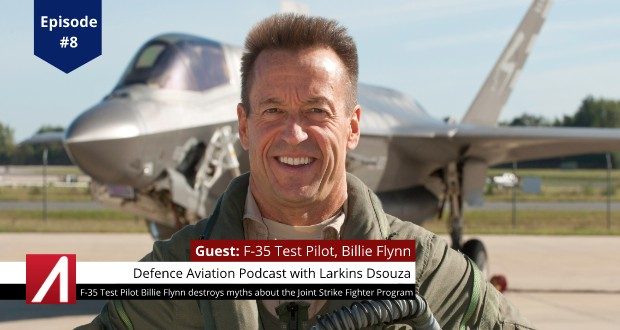 DA #8: F-35 Test Pilot Billie Flynn Destroys Myths about the Joint Strike Fighter Program