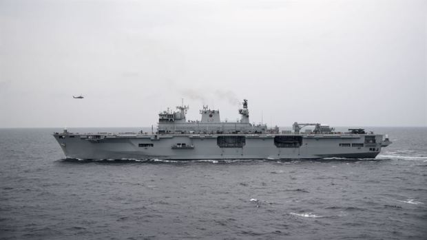 Brazil plans to purchase HMS Ocean Helicopter Carrier for £84 million