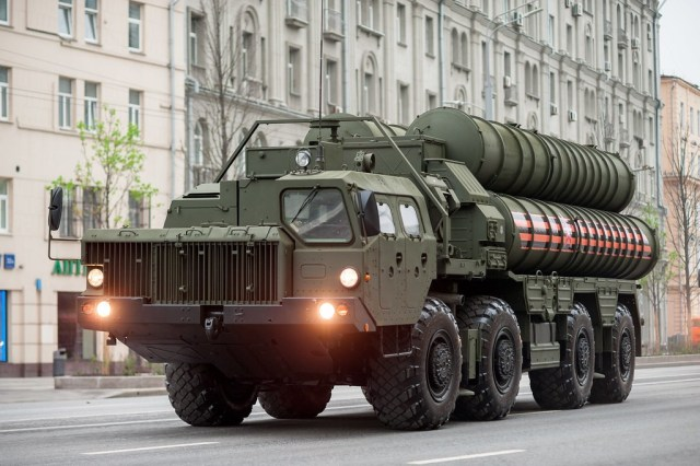 Turkey S-400 missile system