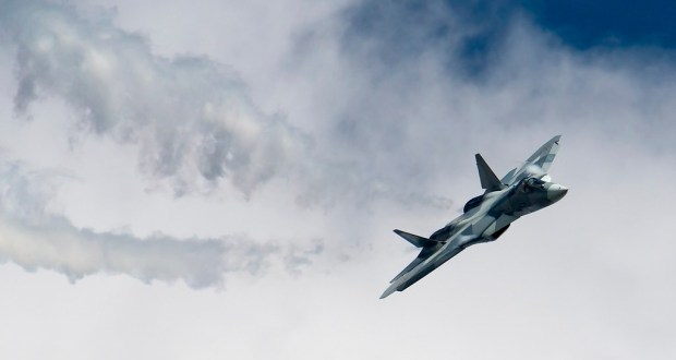Russia's 5th Generation Fighter Jet Su-57 crashes during factory testing