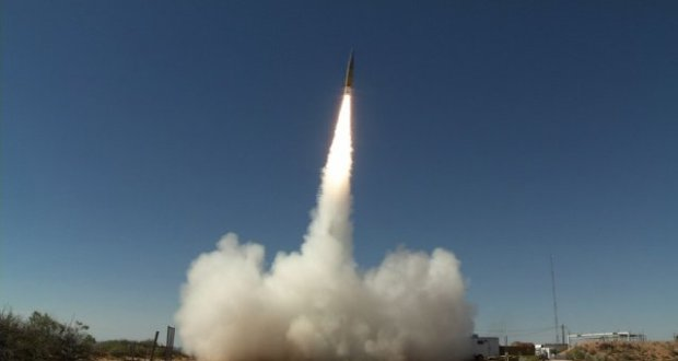 The United States military tests new ballistic missile, Russia nervous