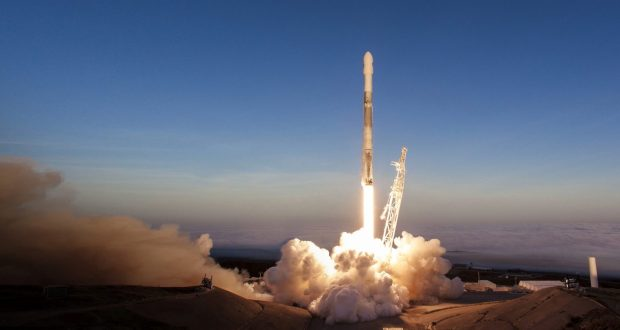 SpaceX Falcon 9 Second Stage Merlin Vacuum Engine & Dragon Spaceship Specifications