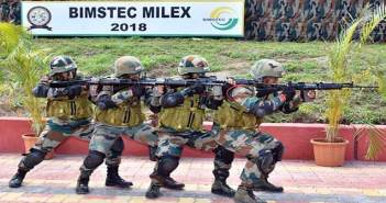 First ever military exercise of BIMSTEC nations conducted in India 47