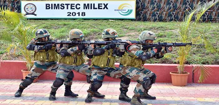 First ever military exercise of BIMSTEC nations conducted in India 3