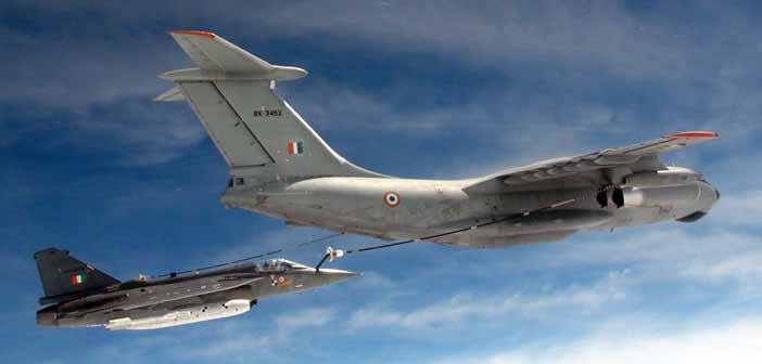 Maiden midair refueling of Tejas aircraft conducted successfully 19