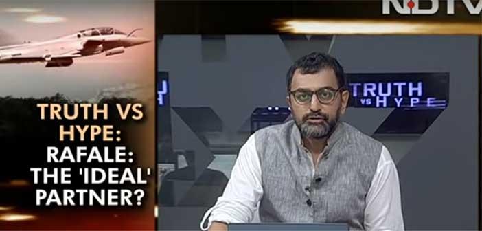 Rafale Deal: Anil Ambani slaps Rs. 10,000 crore case against NDTV 8