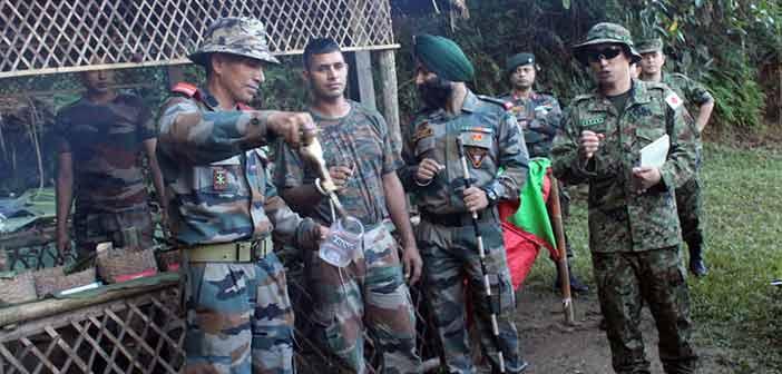 India, Japan begin military exercise Dharma Guardian in Mizoram 2
