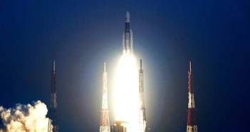 ISRO launches heaviest satellite using most powerful GSLV rocket 12