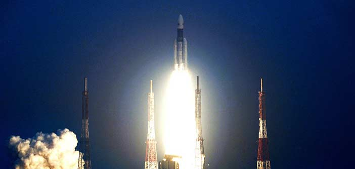 ISRO launches heaviest satellite using most powerful GSLV rocket 9