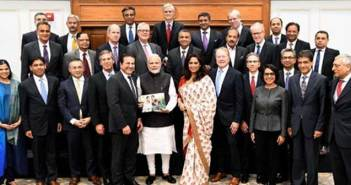 US industry leaders call on Prime Minister Modi 27