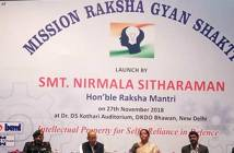 Sitharaman sets target for Raksha Gyan Shakti: File thousand IPR applications 1