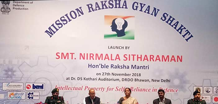 Sitharaman sets target for Raksha Gyan Shakti: File thousand IPR applications 8