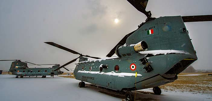 Boeing Chinook, IAF, Indian Air Force, Video, Photo