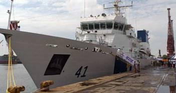Indian Coast Guard Ship Varaha