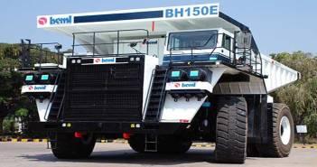 India BEML BH150E Electric Dump Truck