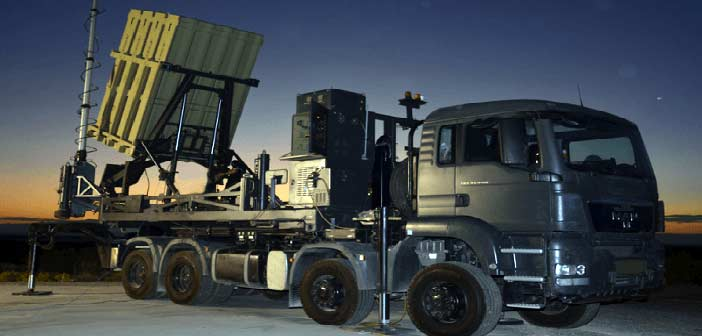 Raytheon Rafael JV Iron Dome Missile