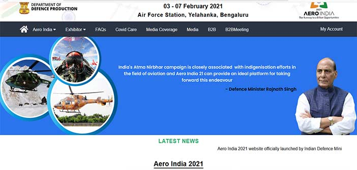Aero India 2021 Defence Exhibition
