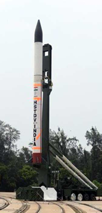 DRDO Hypersonic Missile Weapon Vehicle HSTDV