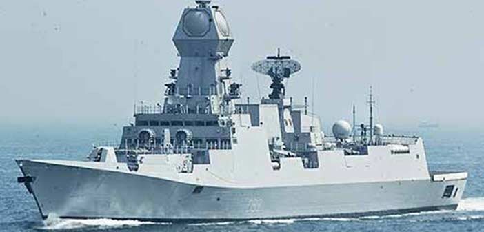 Indian Navy Project 17 A Nilgiri Class Ship