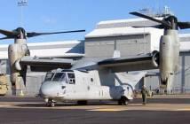 US Navy Boeing V-22 Osprey aircraft